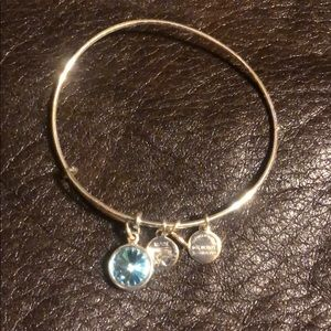 Alex and Ani Birthstone Bracelet